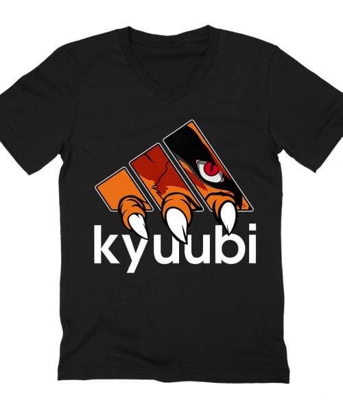 Kyuubi Adidas Póló - Naruto - Grenn