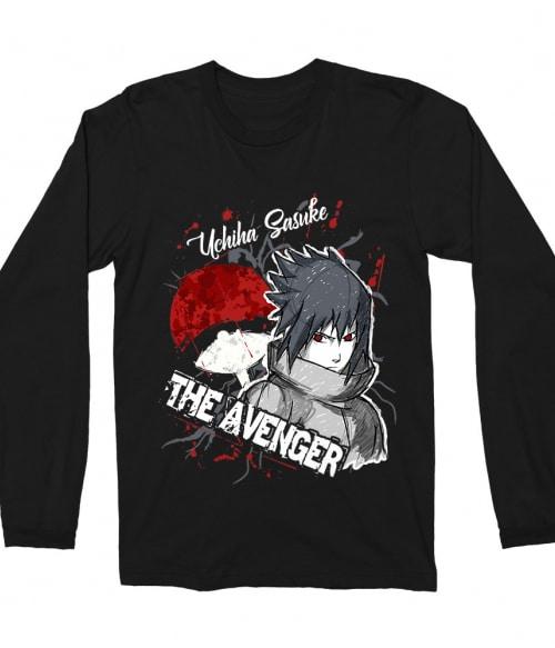 Sasuke Uchiha - The Avenger Póló - Naruto - Grenn
