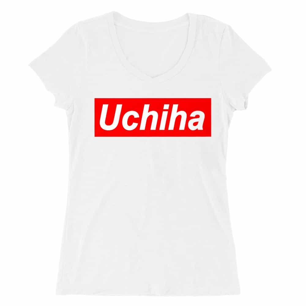 Uchiha Supreme Női V-nyakú Póló