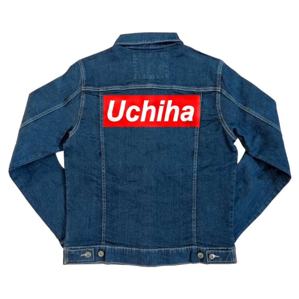 Uchiha Supreme Unisex Farmerkabát