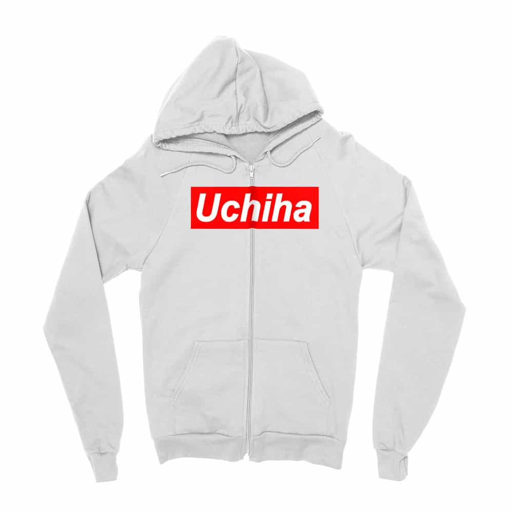 Uchiha Supreme Zipzáros Pulóver