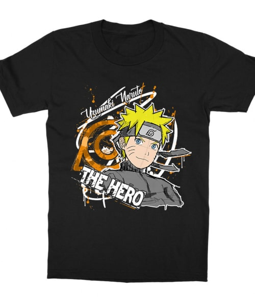 Uzumaki Naruto - The Hero Póló - Naruto - Grenn