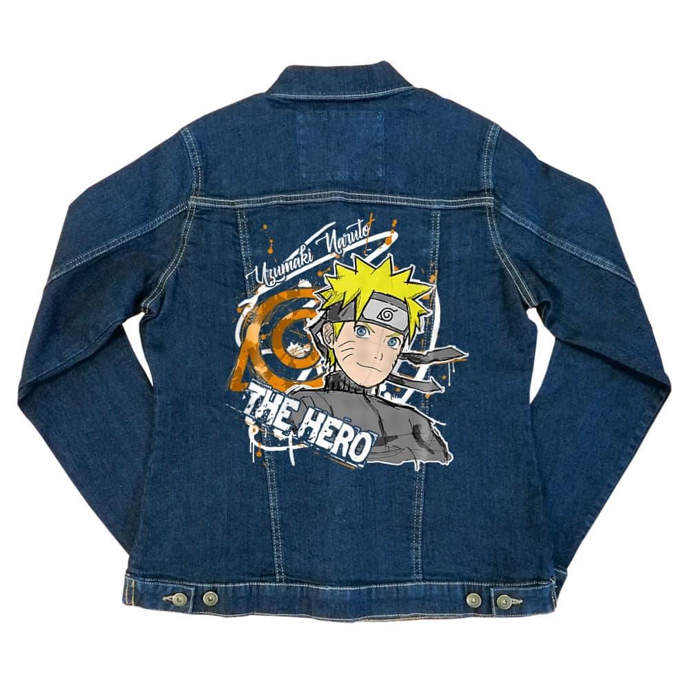 Uzumaki Naruto - The Hero Női Farmerkabát