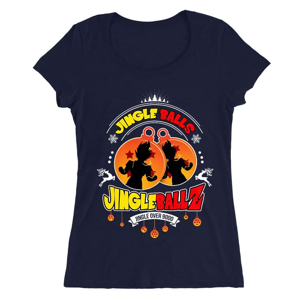 Jingle Ballz Női O-nyakú Póló