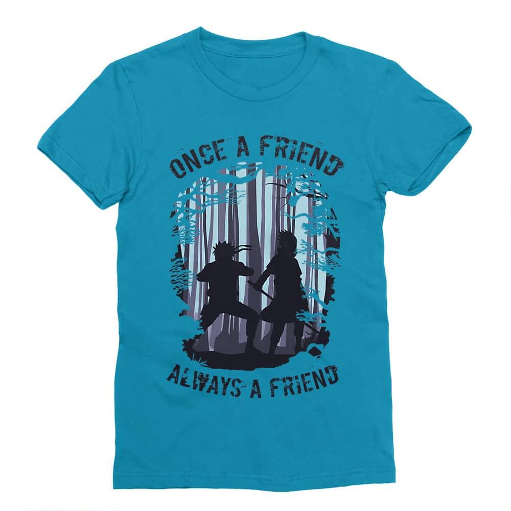 Once a friend Férfi Testhezálló Póló