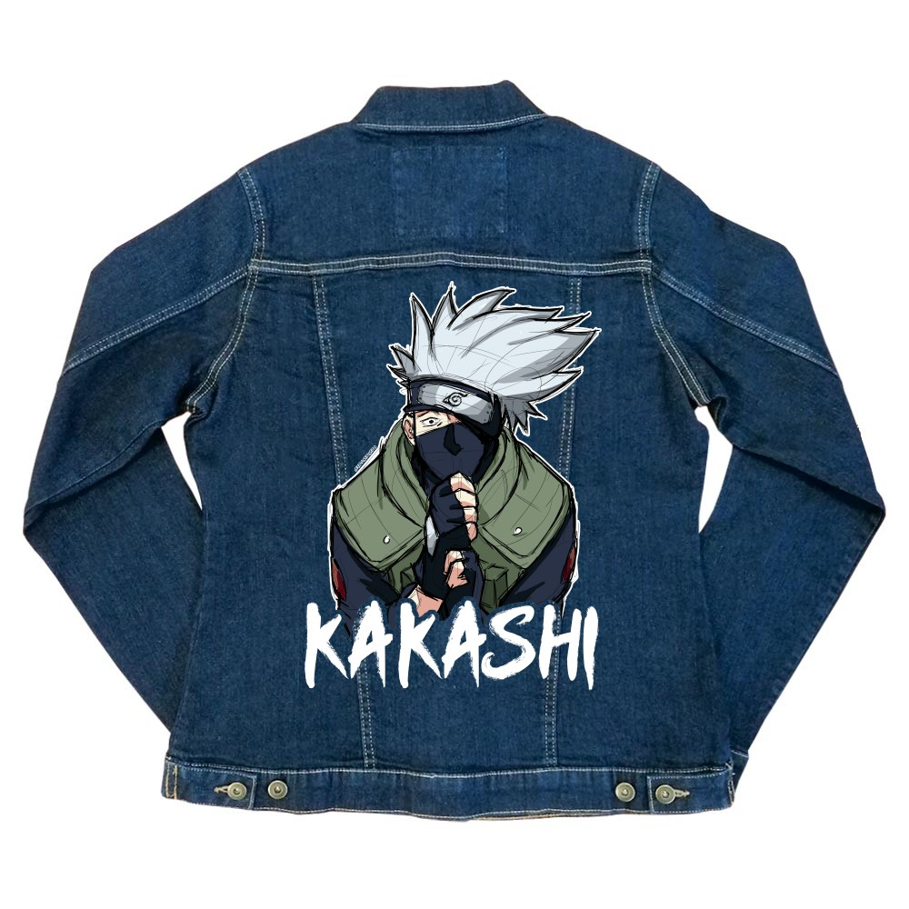 Kakashi graphic Női Farmerkabát
