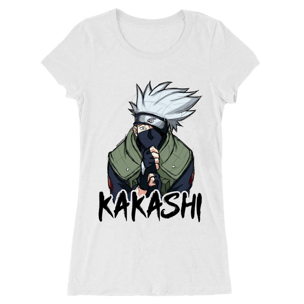 Kakashi graphic Női Hosszított Póló