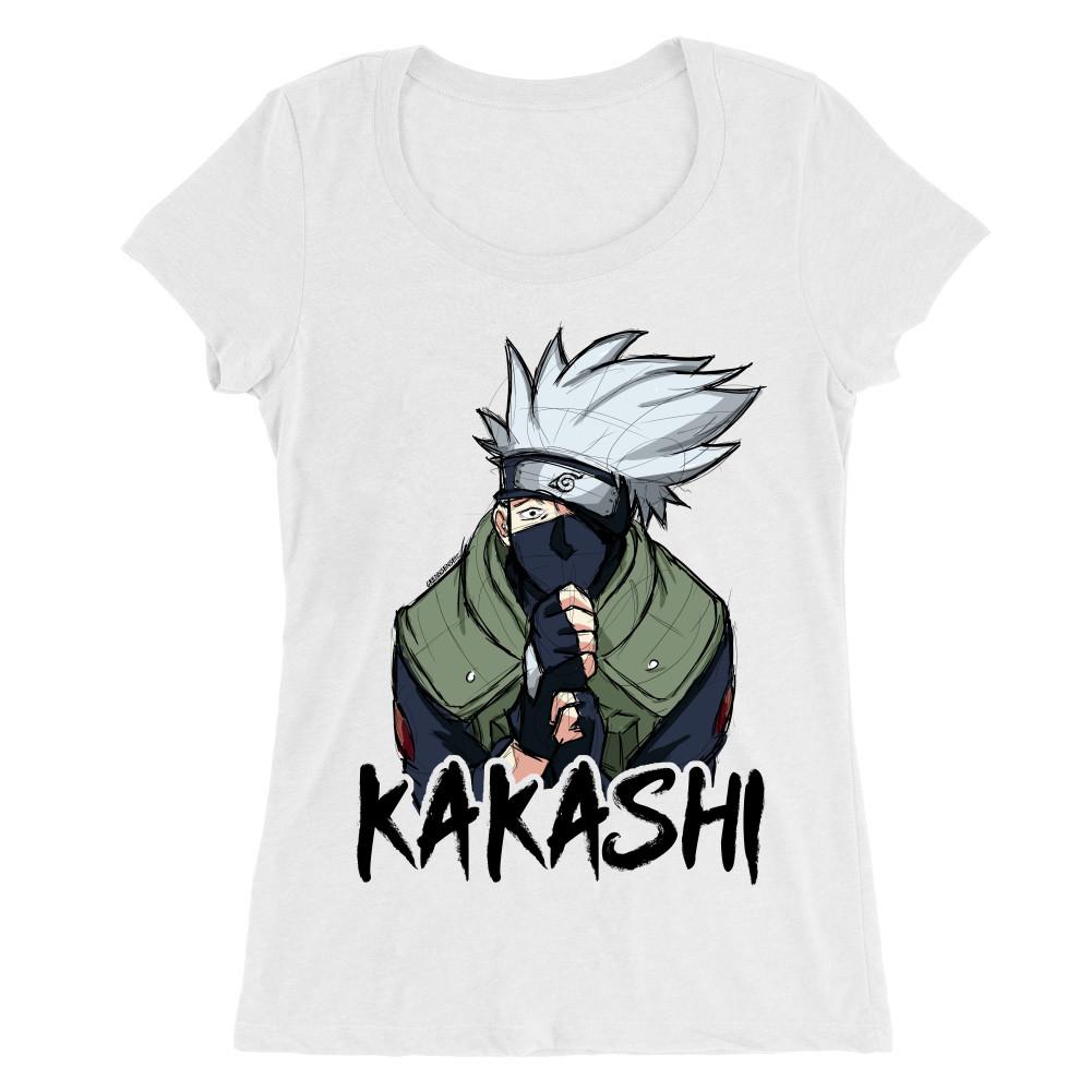 Kakashi graphic Női O-nyakú Póló