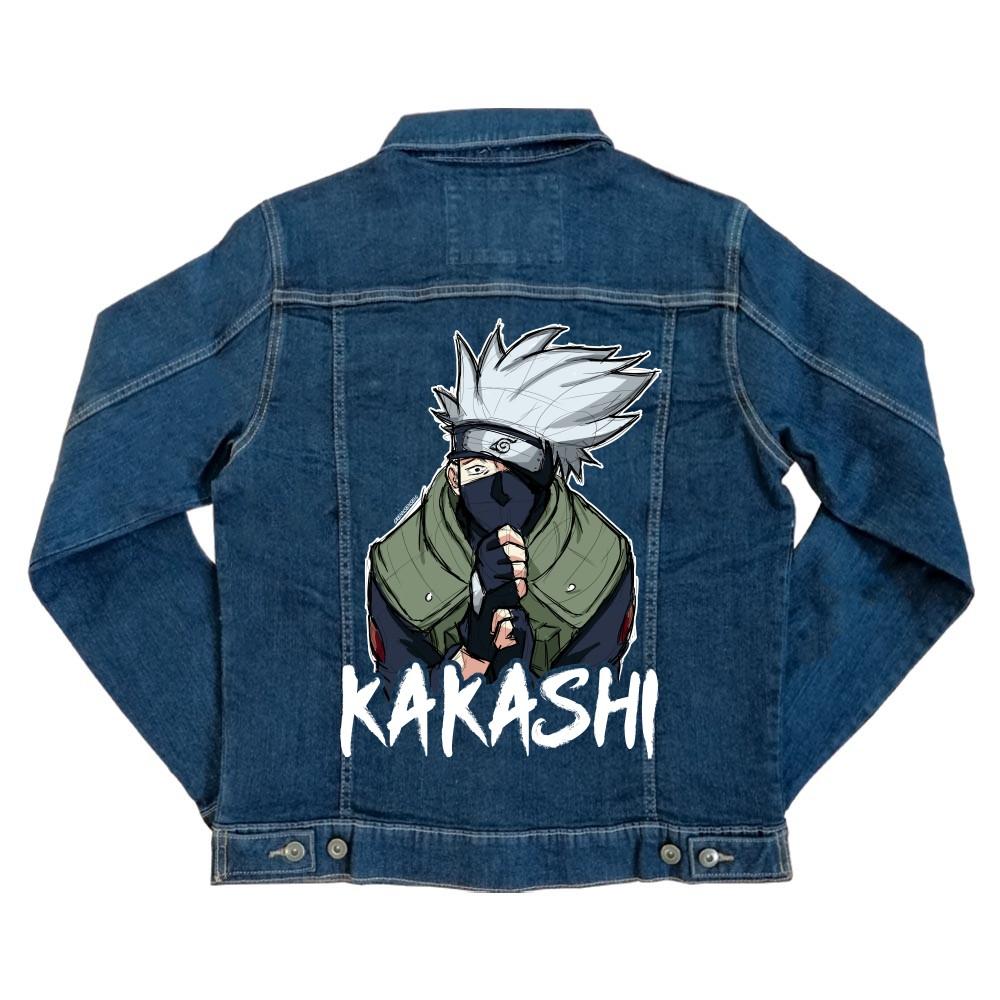 Kakashi graphic Unisex Farmerkabát