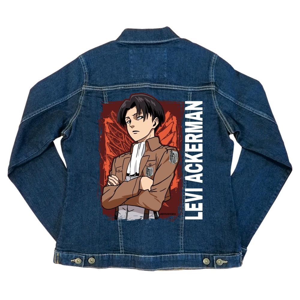 Levi Ackerman - Legion logo Női Farmerkabát
