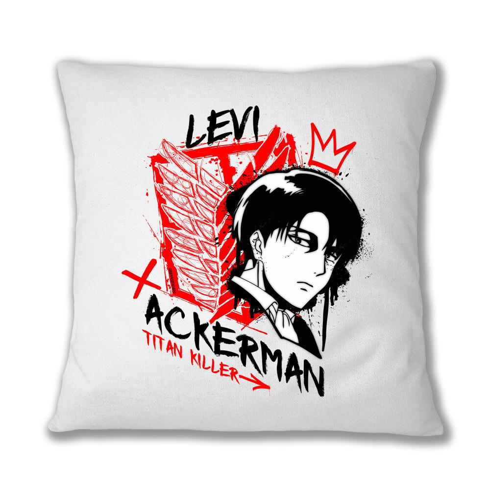 Levi Ackerman - Titan Killer Párnahuzat