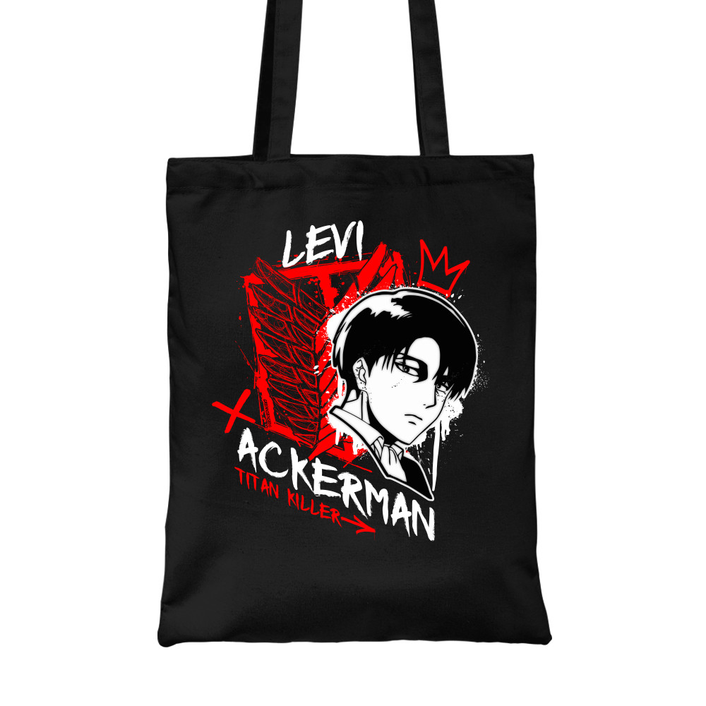 Levi Ackerman - Titan Killer Vászontáska