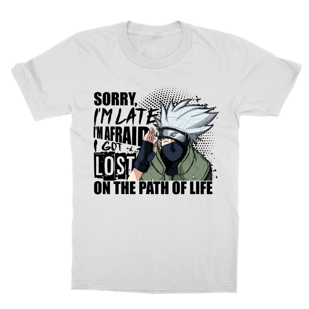 Sorry I'm late - Kakashi Gyerek Póló