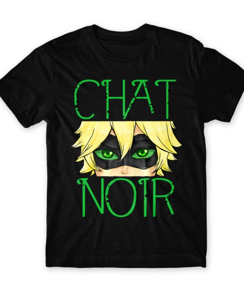 Chat Noir Póló - Miraculous: Tales of Ladybug and Chat Noir - Lindako
