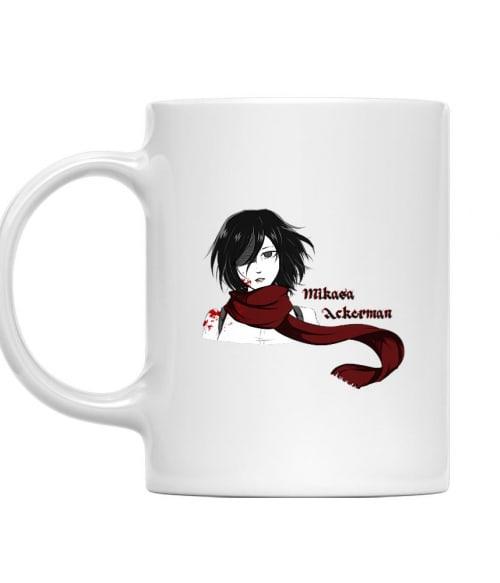 Mikasa Ackerman Póló - Attack on Titan - Lindako