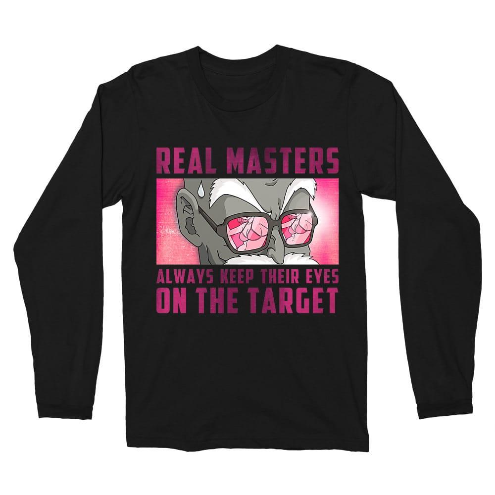 Roshi master target Férfi Hosszúujjú Póló