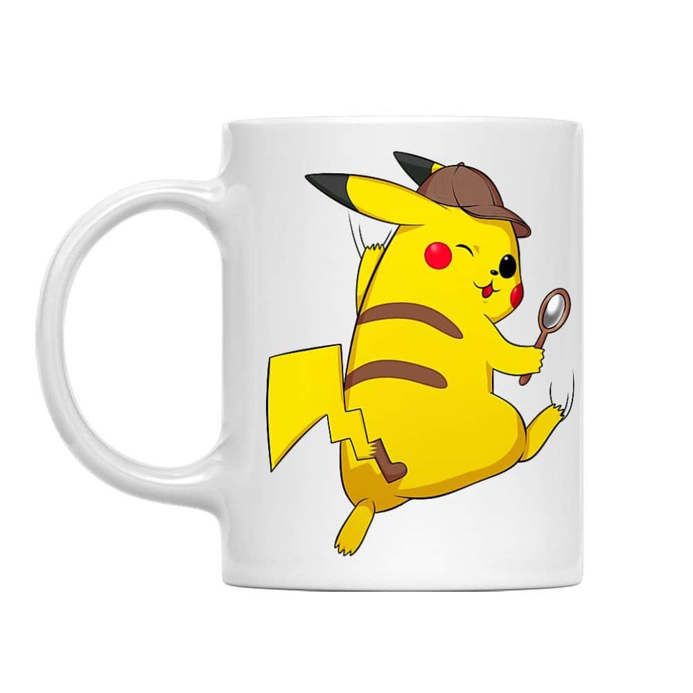 Detetktív Pikachu Bögre