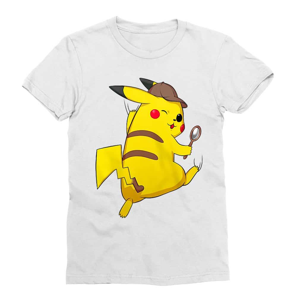Detetktív Pikachu Férfi Testhezálló Póló