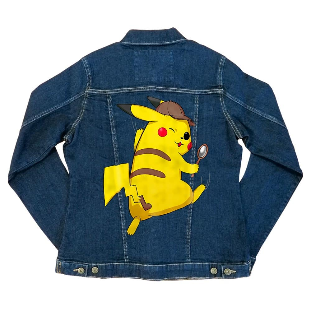 Detetktív Pikachu Női Farmerkabát