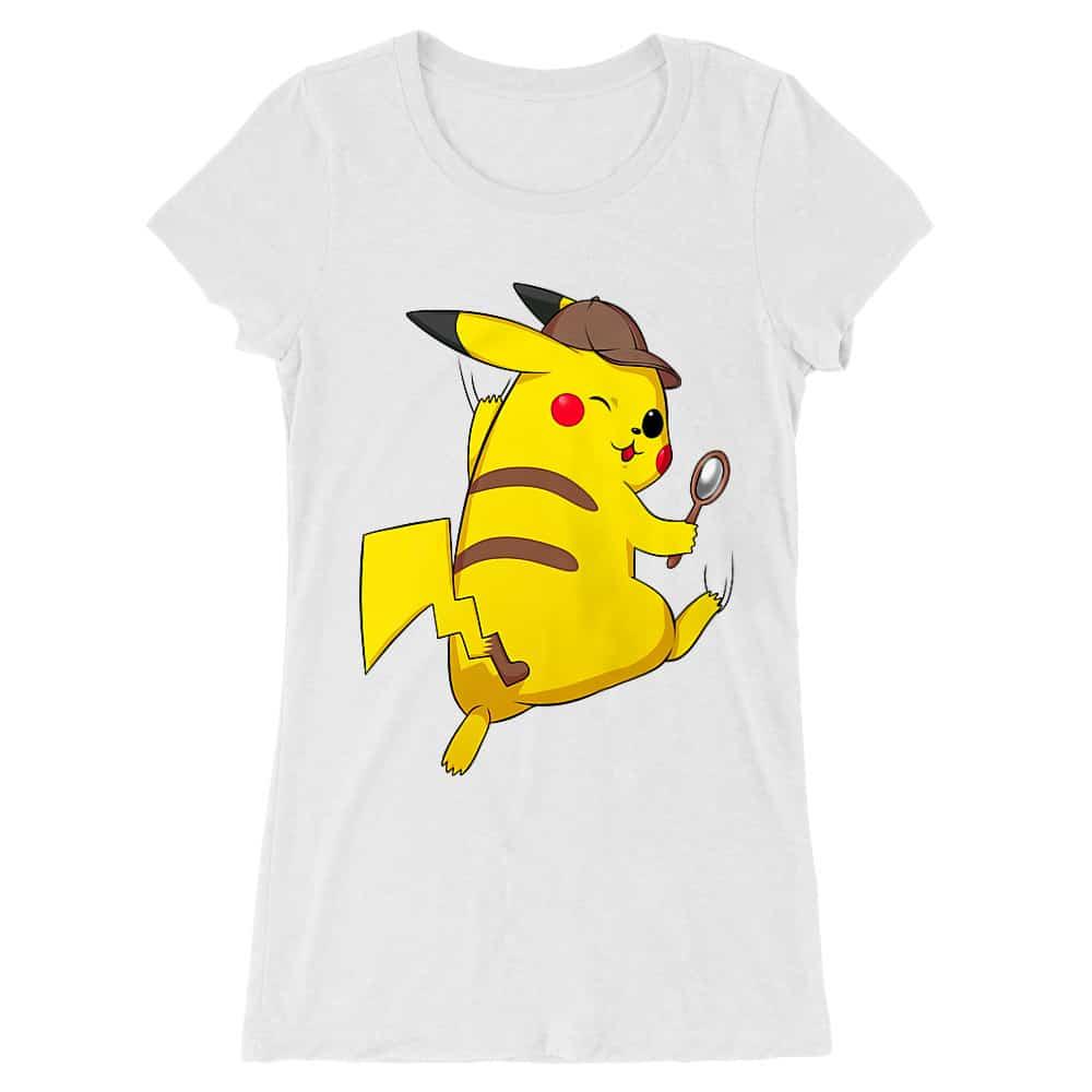 Detetktív Pikachu Női Hosszított Póló
