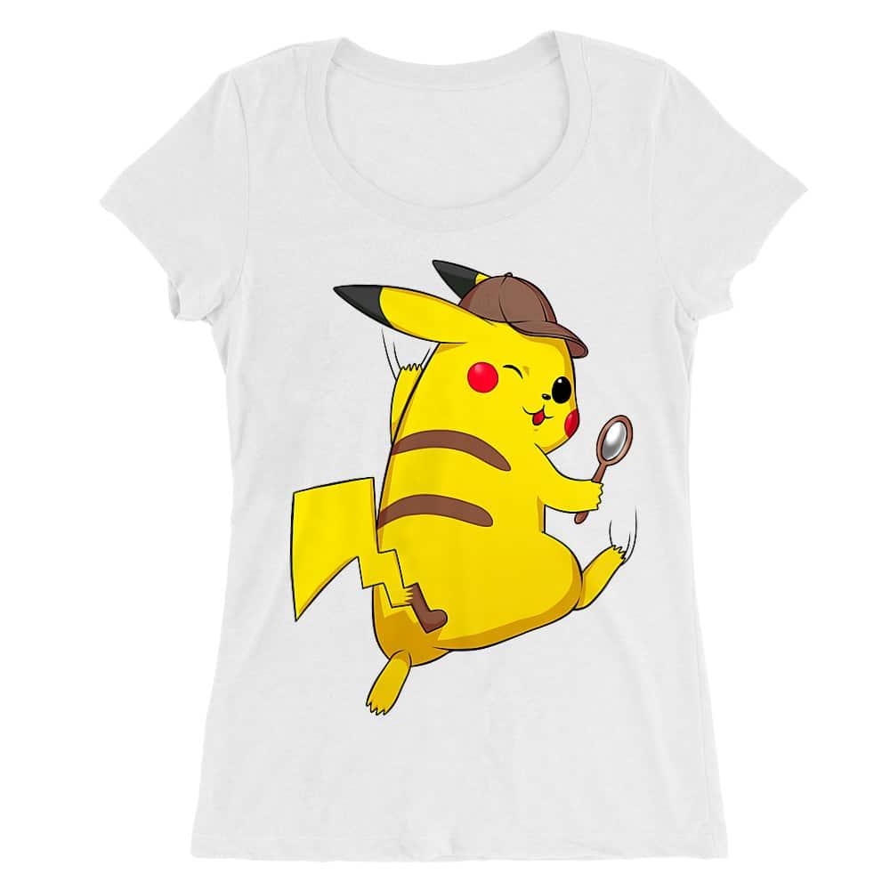 Detetktív Pikachu Női O-nyakú Póló
