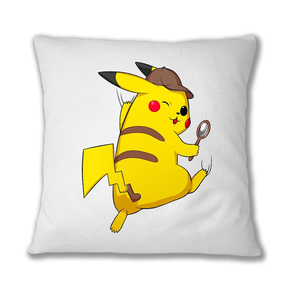 Detetktív Pikachu Párnahuzat