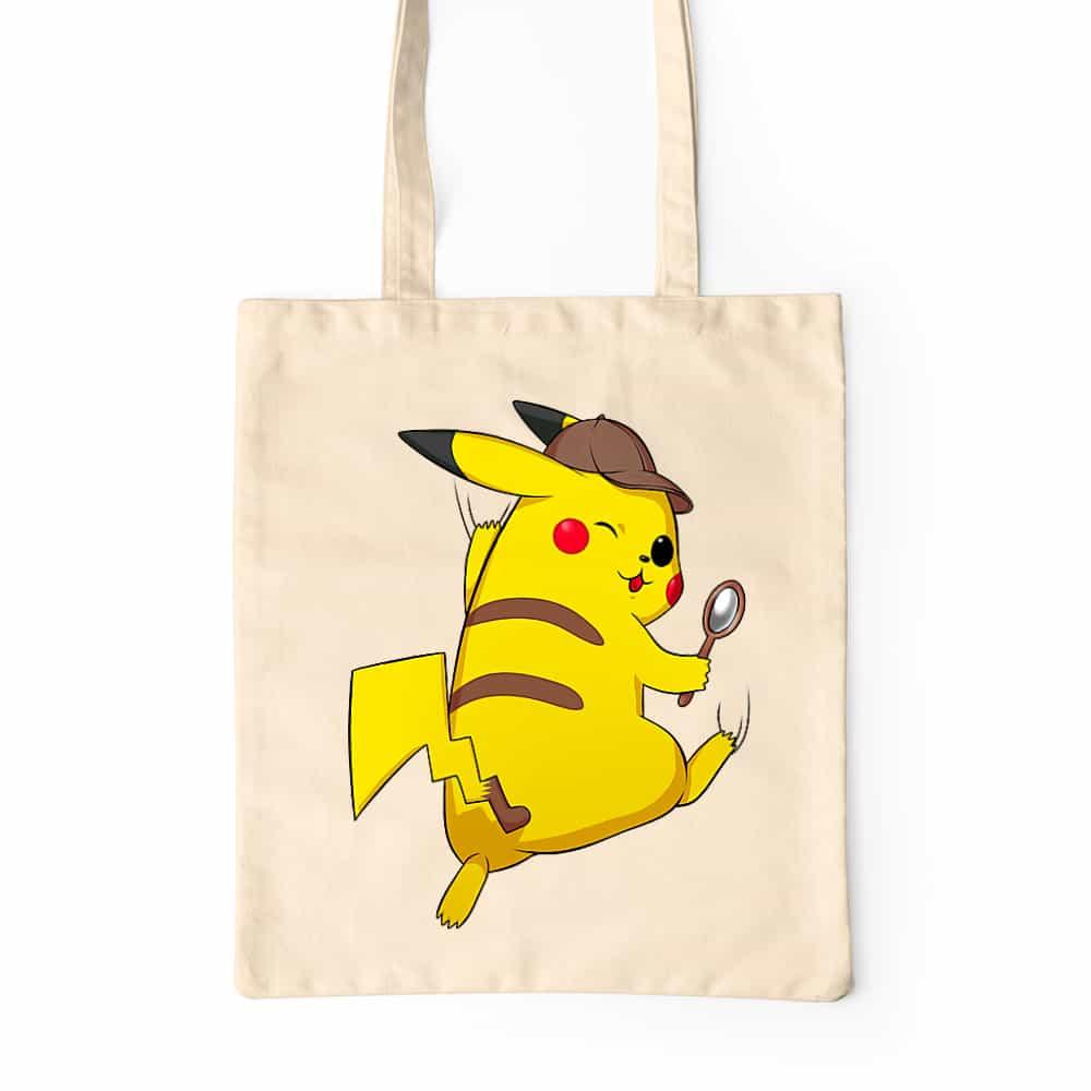 Detetktív Pikachu Prémium Vászontáska