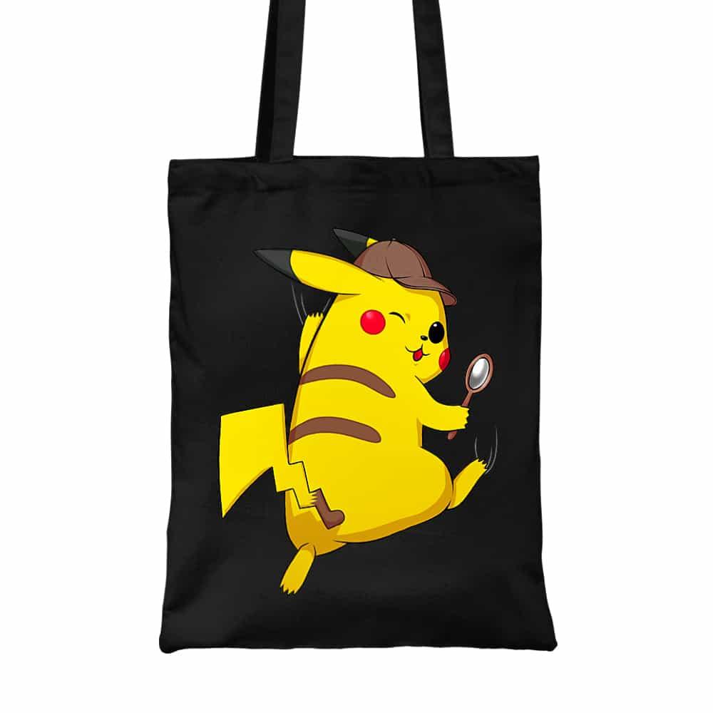 Detetktív Pikachu Vászontáska
