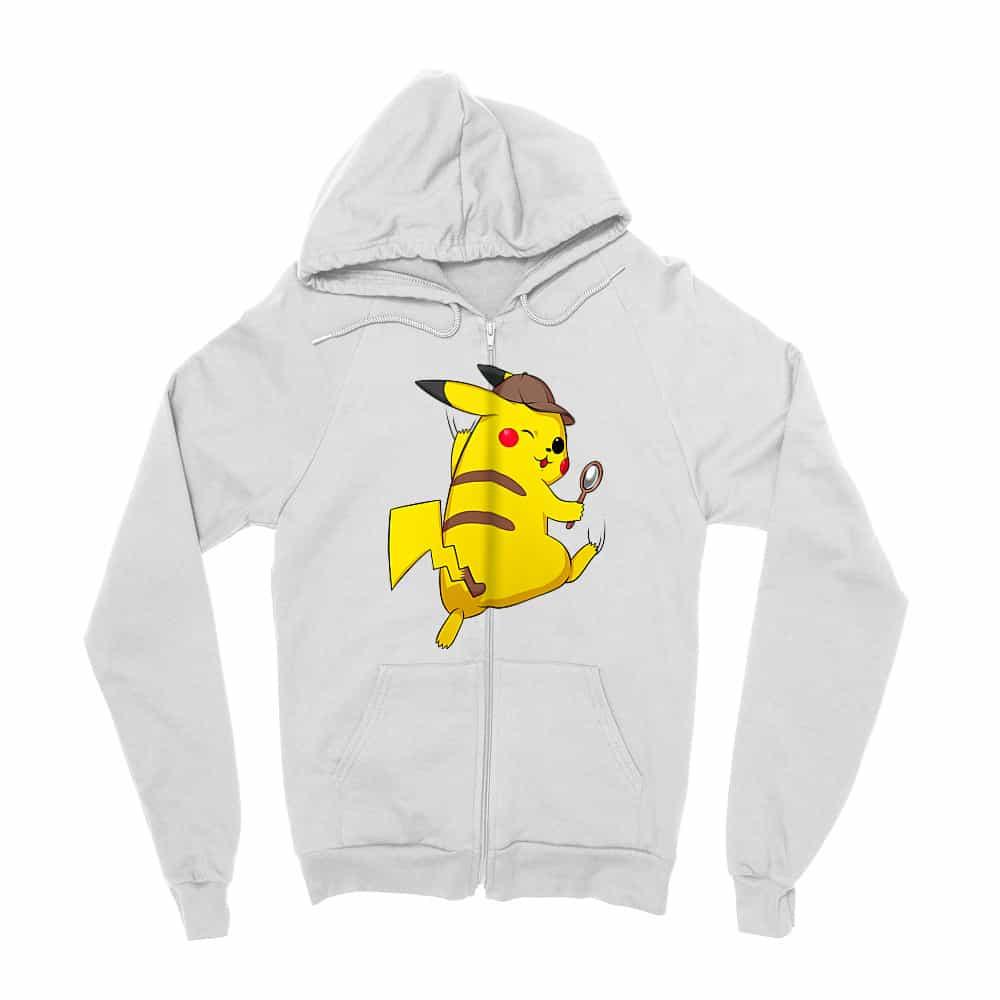 Detetktív Pikachu Zipzáros Pulóver