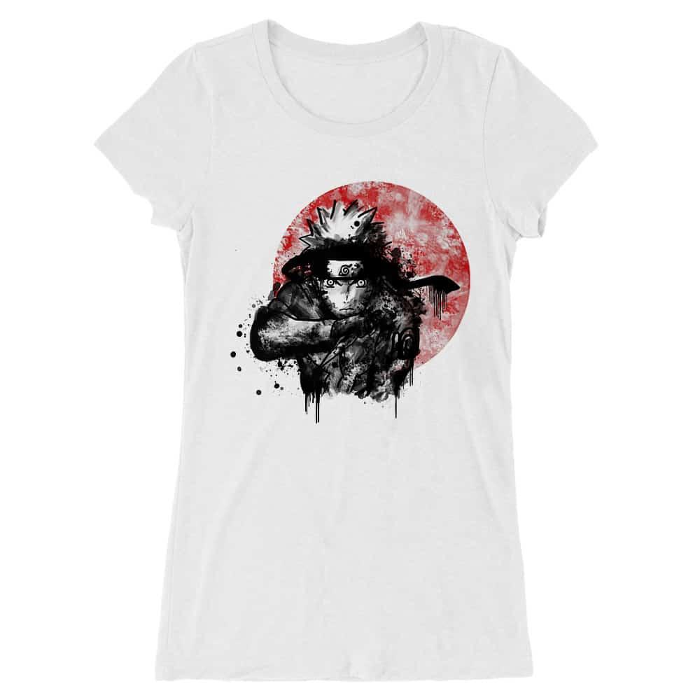Naruto moon Női Hosszított Póló