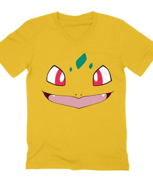 Bulbasaur face Póló - Pokemon
