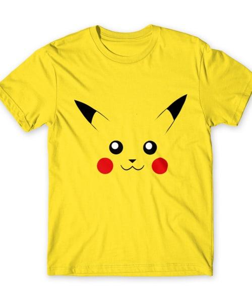 Pikachu face Póló - Pokemon