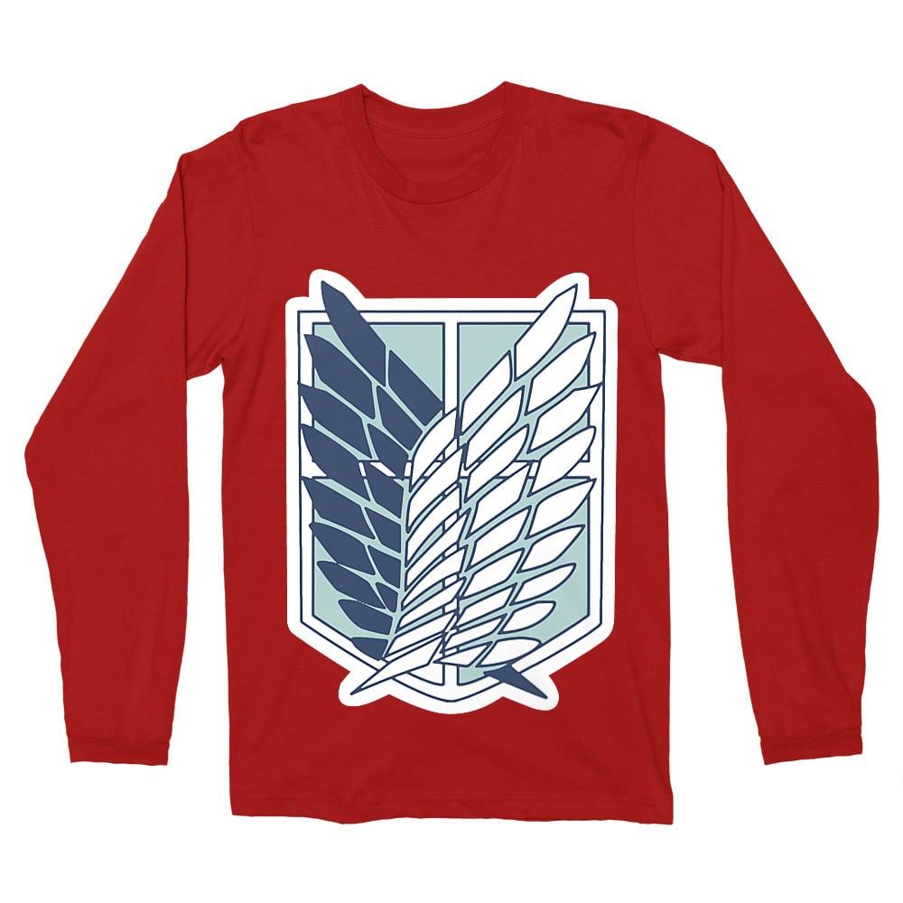 Scouting Legion logo Férfi Hosszúujjú Póló
