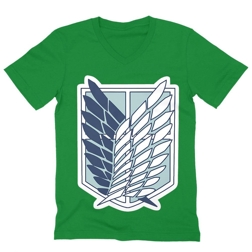 Scouting Legion logo Férfi V-nyakú Póló