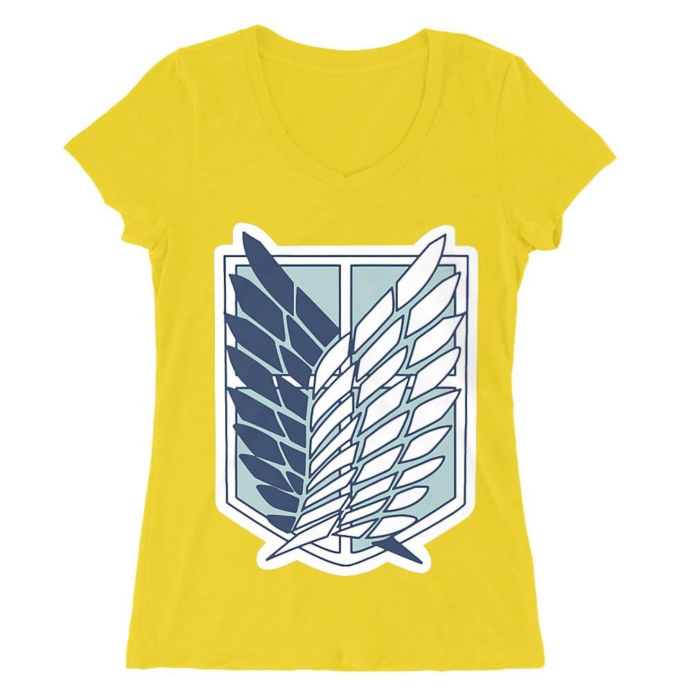 Scouting Legion logo Női V-nyakú Póló