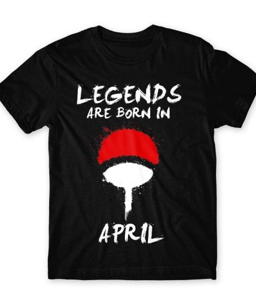 Uchiha Legends April Póló - Naruto