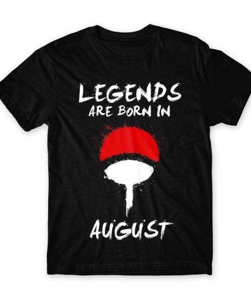 Uchiha Legends August Póló - Naruto