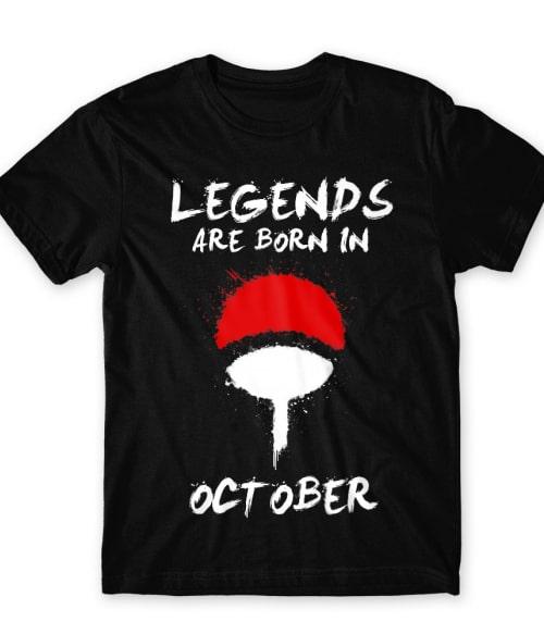 Uchiha Legends October Póló - Naruto