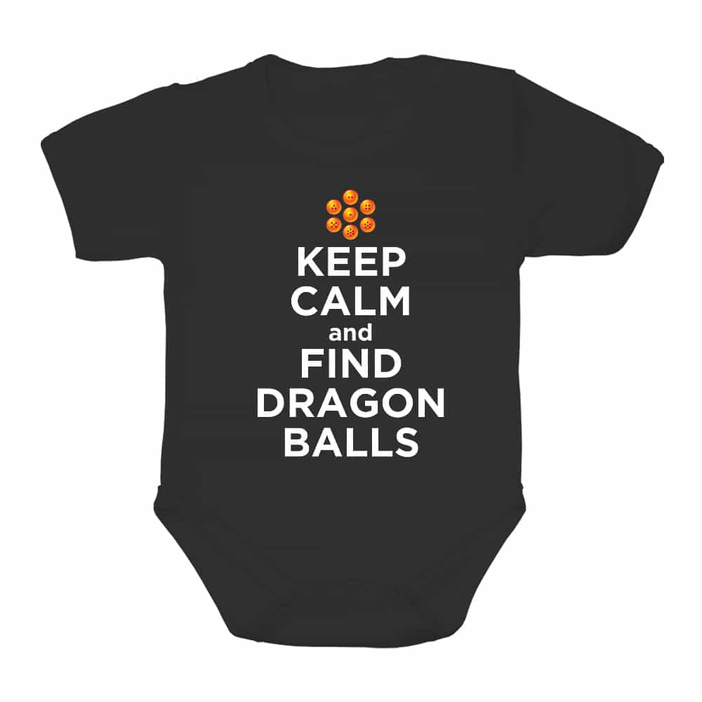 Keep Calm and find Dragon Balls Baba Body