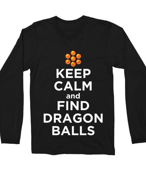 Keep Calm and find Dragon Balls Póló - Dragon Ball - VikingSkull