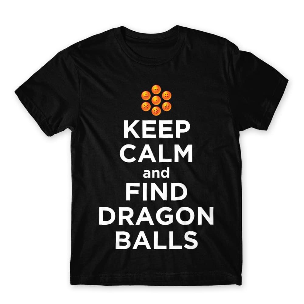 Keep Calm and find Dragon Balls Férfi Póló