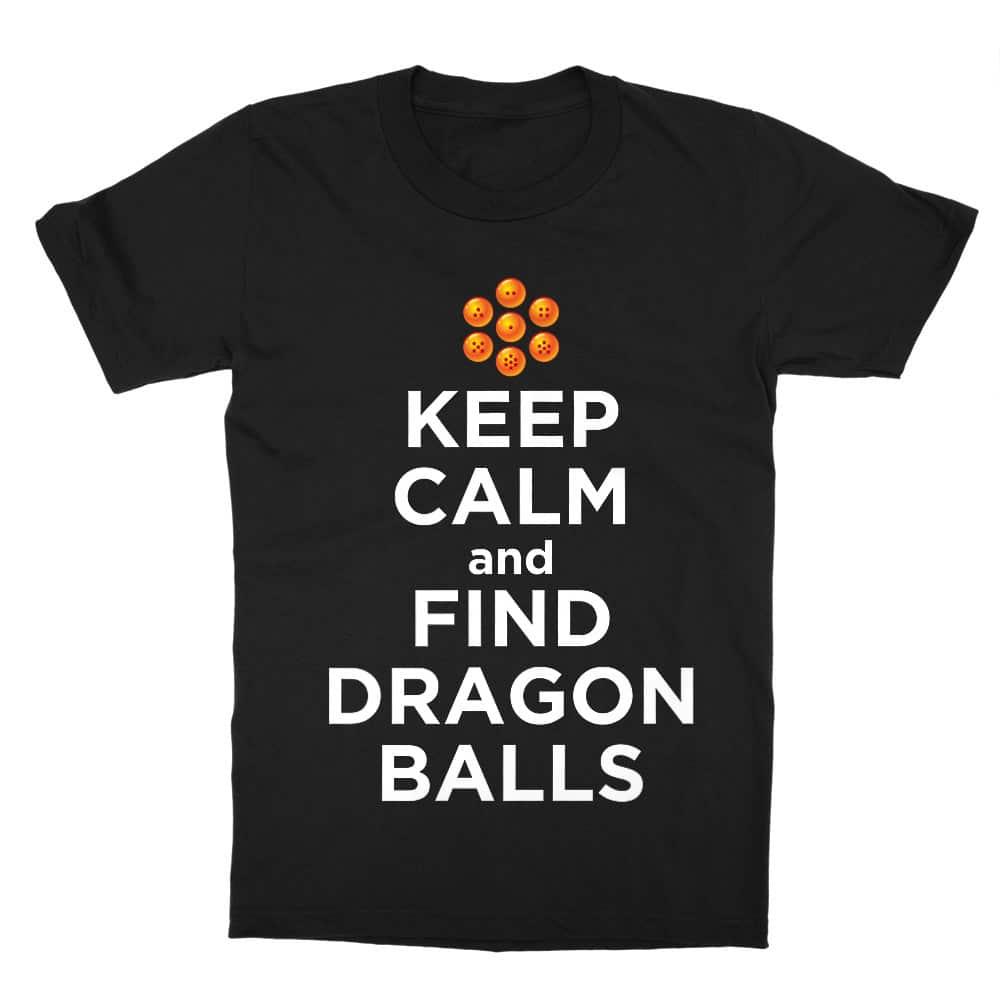 Keep Calm and find Dragon Balls Gyerek Póló