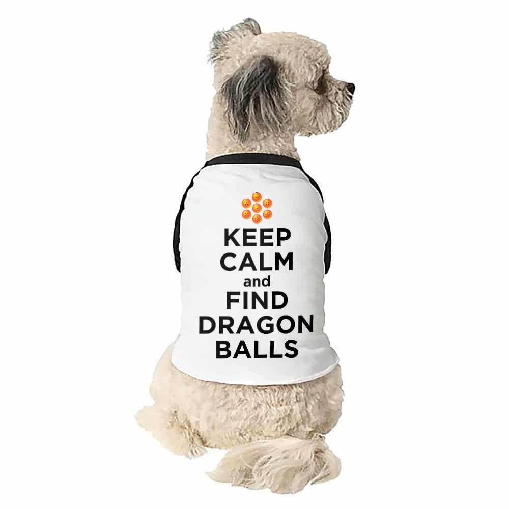 Keep Calm and find Dragon Balls Kutyapóló