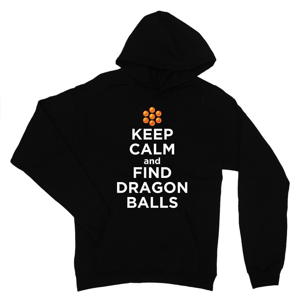 Keep Calm and find Dragon Balls Női Pulóver