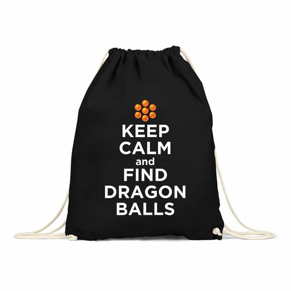 Keep Calm and find Dragon Balls Tornazsák