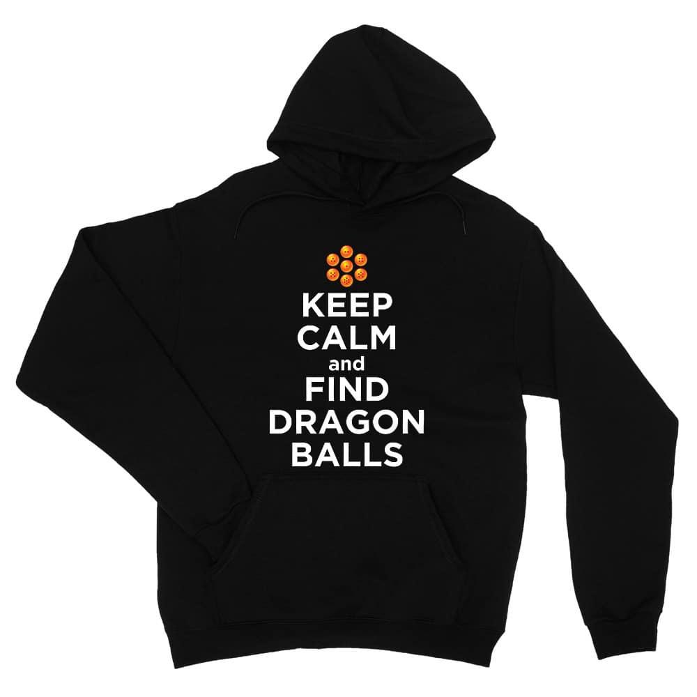 Keep Calm and find Dragon Balls Unisex Pulóver