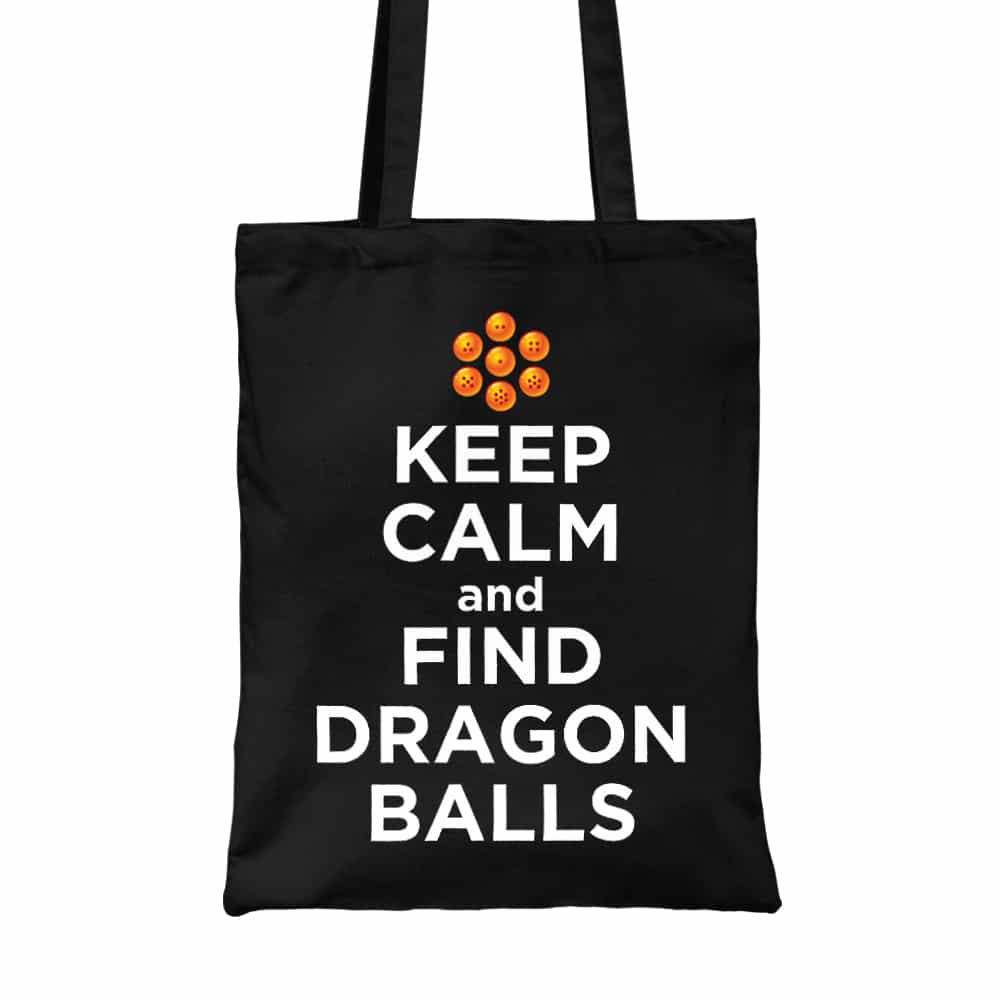 Keep Calm and find Dragon Balls Vászontáska