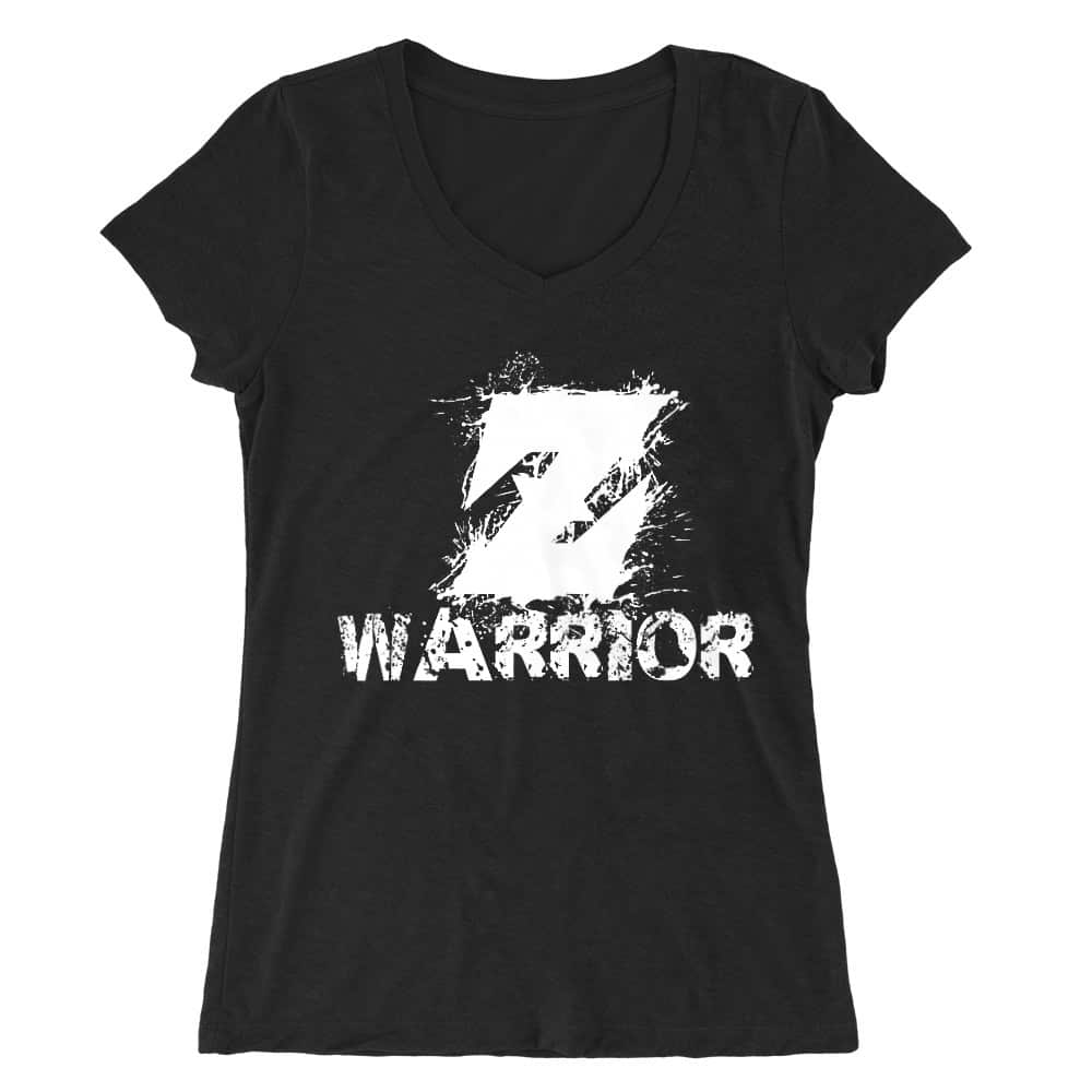 Z Warrior Női V-nyakú Póló