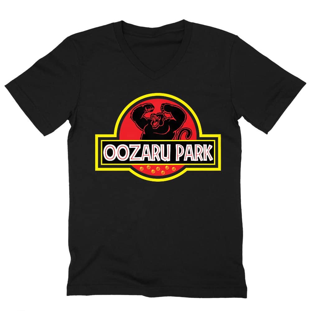 Oozaru Park Férfi V-nyakú Póló