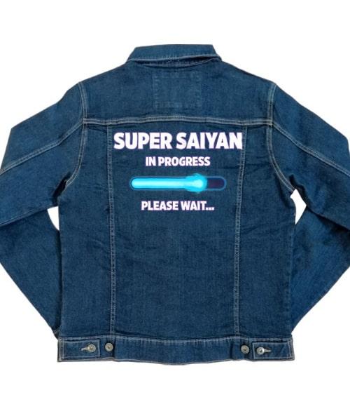 Super Saiyan in progress Póló - Dragon Ball - VikingSkull